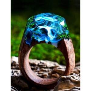 Secret Wood Ring  Azure Fall シークレットウッド リング アズールフォール|hkd-tsutayabooks