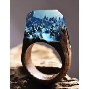 Secret Wood Ring  Enchanted Forest シークレットウッド リング エンチャンテッドフォレスト|hkd-tsutayabooks