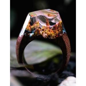 Secret Wood Ring  Autumn River シークレットウッド リング オータムンリバー|hkd-tsutayabooks