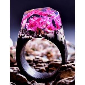 Secret Wood Ring  Ethereal Blossom シークレットウッド リング エセリアルブロッサム|hkd-tsutayabooks