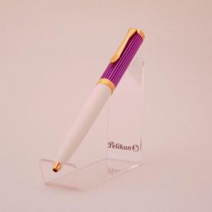 【特別生産品】 PELIKAN ペリカン K600 スーベレーン バイオレット/ホワイト ボールペン  2019年 限定品|hkd-tsutayabooks