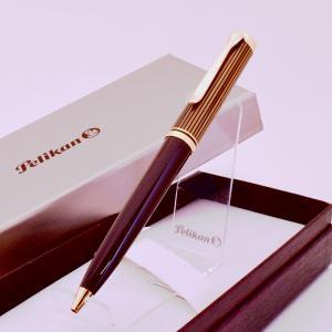 【特別生産品】 PELIKAN ペリカン K800 スーベレーン ブラウンブラック ボールペン  2019年 限定品|hkd-tsutayabooks