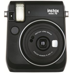 フジフイルム インスタントカメラ instax mini70 チェキ ブラック hkd-tsutayabooks