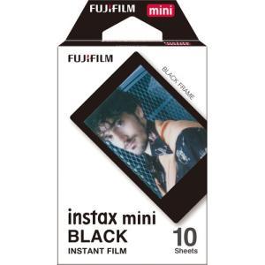 フジフイルム インスタントカラーフイルム instax mini ブラックフレーム 10枚入 hkd-tsutayabooks