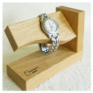 湯の里デスク 時間よとまれ ナラ インテリア 腕時計 スタンド|hkd-tsutayabooks