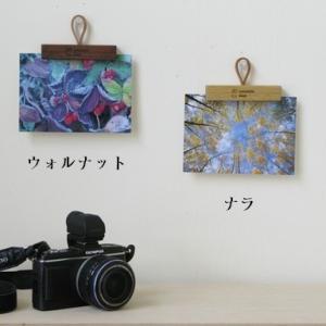 湯の里デスク カードハンガー ウォルナット インテリア 雑貨|hkd-tsutayabooks