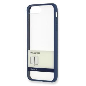 【ネコポス発送】MOLESKINE iPhone Plus ケース ゴム紐 ブルー モレスキン hkd-tsutayabooks