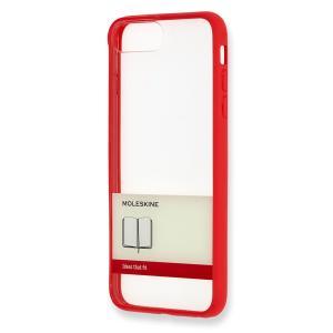 【ネコポス発送】MOLESKINE iPhone Plus ケース ゴム紐 レッド モレスキン hkd-tsutayabooks