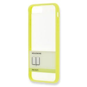 【ネコポス発送】MOLESKINE iPhone Plus ケース ゴム紐 イエロー モレスキン hkd-tsutayabooks