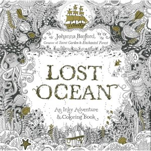 LOST OCEAN 大人の塗り絵 海の楽園 洋書版 バスフォード ロストオーシャン おとなのぬりえ|hkd-tsutayabooks