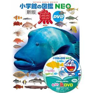小学館の図鑑NEO [新版]魚 DVDつき|hkd-tsutayabooks