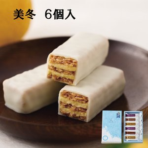 10013 美冬 6個入 石屋製菓 北海道銘菓 土産 ギフト お取り寄せ|hkiosk