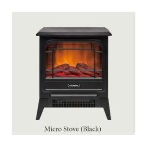 電気暖炉 Micro Stove MCS12J  ブラック hkt-tsutayabooks