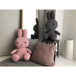 BON TON TOYS Miffy Corduroy 70cm ミッフィー コーデュロイ製 ぬいぐるみ 3color|hkt-tsutayabooks