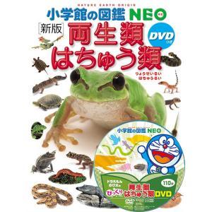 小学館の図鑑NEO<新版> 両生類・はちゅう類 DVDつき