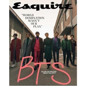 【洋書】Esquire (エスクァイア) US EDITION Volume174 No.3 HEARST 2020年12月号[表紙:BTS] hkt-tsutayabooks