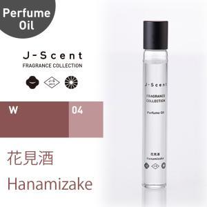 和の香水『 J-Scent ジェイセント 』パフュームオイル 花見酒 / Hanamizake 10ml hkt-tsutayabooks