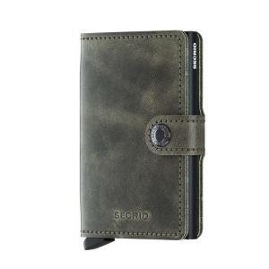 【SECRID(セクリッド シークリッド)】ミニウォレット Miniwallet Vintage Olive-Black hkt-tsutayabooks