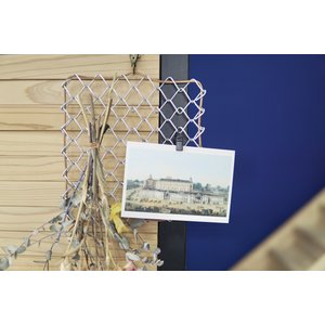 金網をくるくるつなげて作るディスプレイフェンス 9color hkt-tsutayabooks
