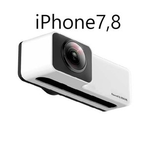 KRAVAS 360° VIEW カメラレンズ (iPhon7/8専用)|hkt-tsutayabooks