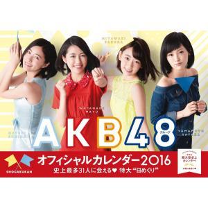 【AKB48】AKB48グループ オフィシャルカレンダー2016 ※生写真無し 未使用 中古...