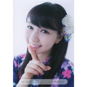【HKT48】博多座 生写真 村重杏奈 ヨリ 会場限定バラ 1枚 中古
