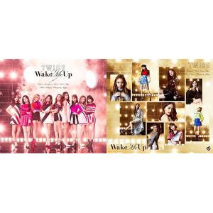 【TWICE(トゥワイス)】Wake Me Up 初回限定盤 タイプA+B 2枚セット CD+DVD ※特典無し 未再生品 中古品|hkt48haganeko01