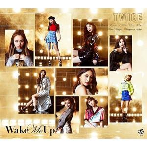 【TWICE(トゥワイス)】Wake Me Up 初回限定盤 タイプB CD+DVD ※特典無し 未再生品 中古品|hkt48haganeko01