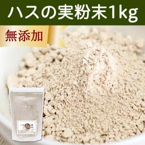 ハスの実粉末1kg お徳用タイプ 蓮の実 パウダー 無添加 アルカロイド|hl-labo