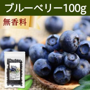 ブルーベリー100g アントシアニン カナダ産 ポリフェノール ドライフルーツ|hl-labo