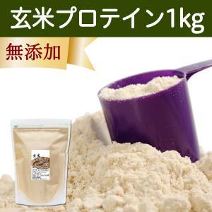 玄米プロテイン 1kg ブラウンライス プロテイン ライス 無添加|hl-labo