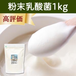 粉末乳酸菌1kg 無添加 プロバイオティクス 朝すっきりの健康生活 乳酸菌スムージーにも。善玉菌|hl-labo