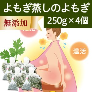 よもぎ蒸しのよもぎ250g×4個 よもぎ蒸し用 自宅用 薬草 材料 国産 徳島県産 乾燥ヨモギ 煮出し袋・クリップ付き 蓬蒸しに使える|hl-labo