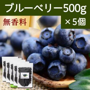 ブルーベリー500g×5個 ドライフルーツ チャック付き袋|hl-labo