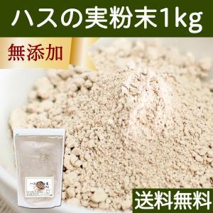 送料無料 ハスの実粉末1kg お徳用タイプ 蓮の実 パウダー 無添加 アルカロイド|hl-labo
