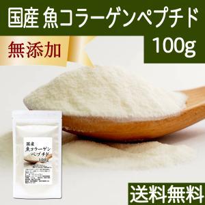 魚コラーゲンペプチド 100g コラーゲン 粉末 パウダー サプリ 食材|hl-labo