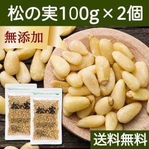 松の実 100g×2個 無添加 無塩 おすすめ 人気 ノンオイル 送料無料|hl-labo