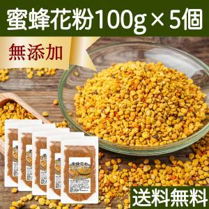 蜜蜂花粉 100g×5個 ビーポーレン 花粉 だんご 非加熱 送料無料|hl-labo