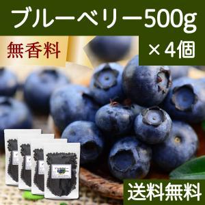 ブルーベリー500g×4個 ドライフルーツ チャック付き袋 送料無料|hl-labo