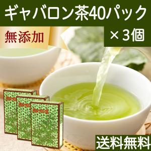 国産ギャバロン茶2g×40パック×3個 ギャバ茶 ガンマアミノ酪酸 手軽な糸付きティーバッグ ティー...