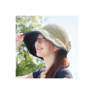 【限定クーポン】ペーパー素材の小顔UV帽子 hl1