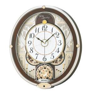 直送品 代引き不可 SEIKO セイコークロック 電波クロック からくり掛時計 ウエーブシンフォニー RE577Bご注文後2〜3営業日後の出荷となります|hl1
