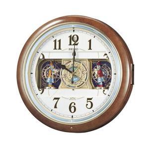 直送品 代引き不可 SEIKO セイコークロック 電波クロック 掛時計 からくり時計 ウエーブシンフォニー RE559Hご注文後2〜3営業日後の出荷となります|hl1