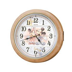 直送品 代引き不可 セイコークロック 電波クロック キャラクタークロック 掛時計 ディズニー ミッキー&フレンズ FW561Aご注文後2〜3営業日後の出荷とな|hl1
