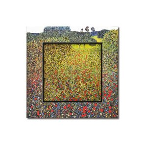 直送品 代引き不可 ユーパワー Big Art ビッグアート 名画ハイグロスシリーズ クリムト 「フィールド オブ ポピー」 BA-08507ご注文後3〜4営業日後の出荷とな|hl1