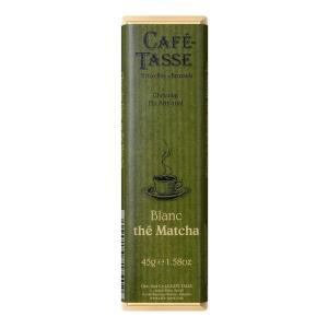 直送品 代引き不可 CAFE-TASSE(カフェタッセ) 抹茶ホワイトチョコ 45g×15個セット