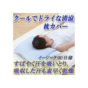 【限定クーポン】クールでドライな清涼枕カバー イージック仕様|hl1