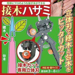 【限定クーポン】接木ハサミ 切り接ぎ職人DX|hl1