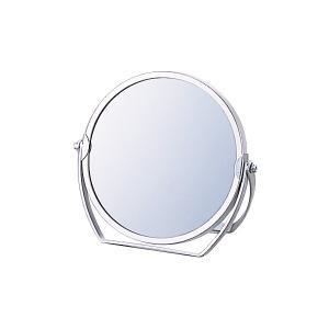 【限定クーポン】3倍拡大鏡付き 両面コンパクトミラー丸 ST-031|hl1