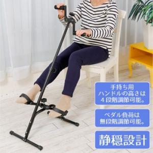直送品 代引き不可 腕回しもできるペダルこぎ運動器 SE5600 ステッパー 運動 不足 解消 自宅 室内 健康 器具 健康器具 運動不足 ペダル運動 有酸素運動 高齢者|hl1